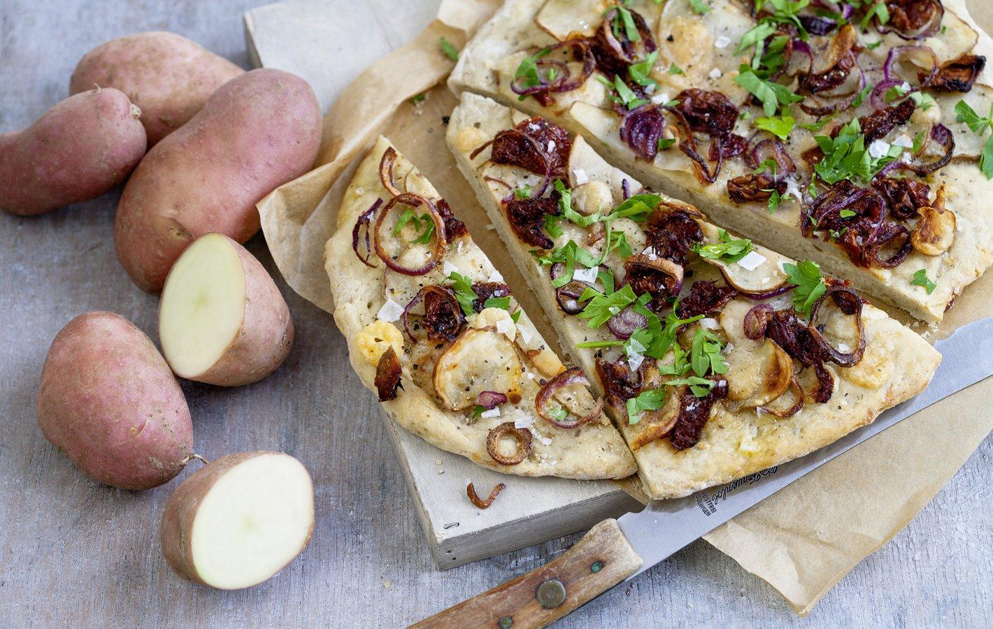 Kartoffeln Focaccia