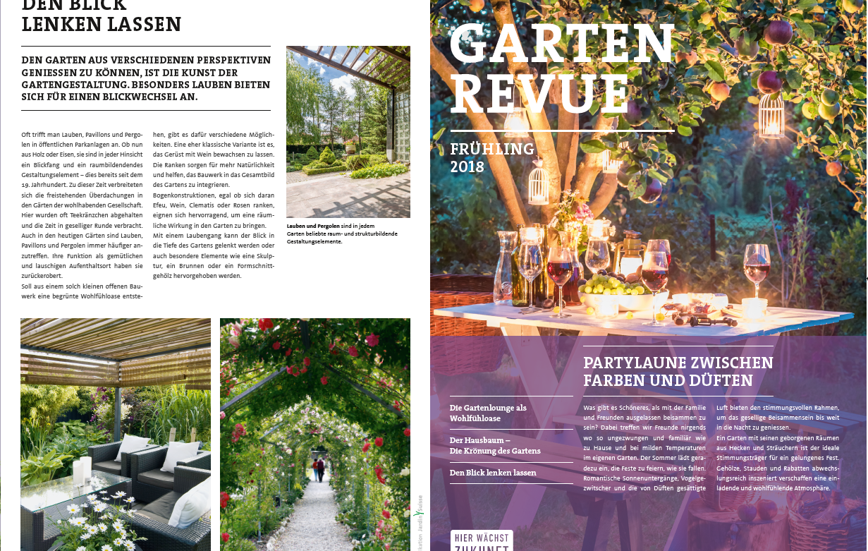 GartenRevue Frühling 2018