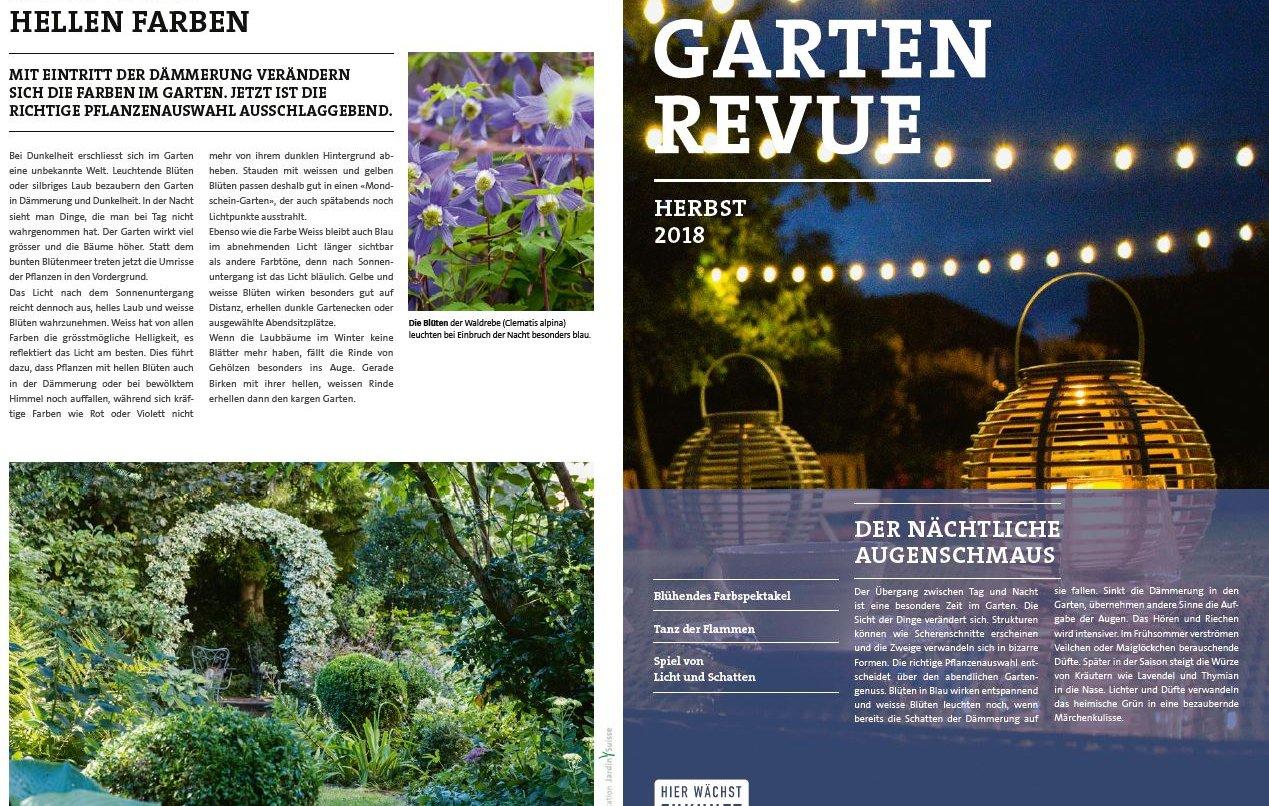 GartenRevue Herbst 2018