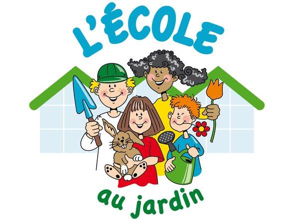 Logo L'école au jardin