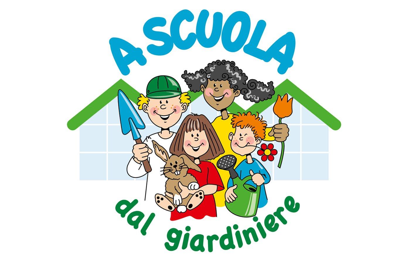 Logo A scuola dal giardiniere