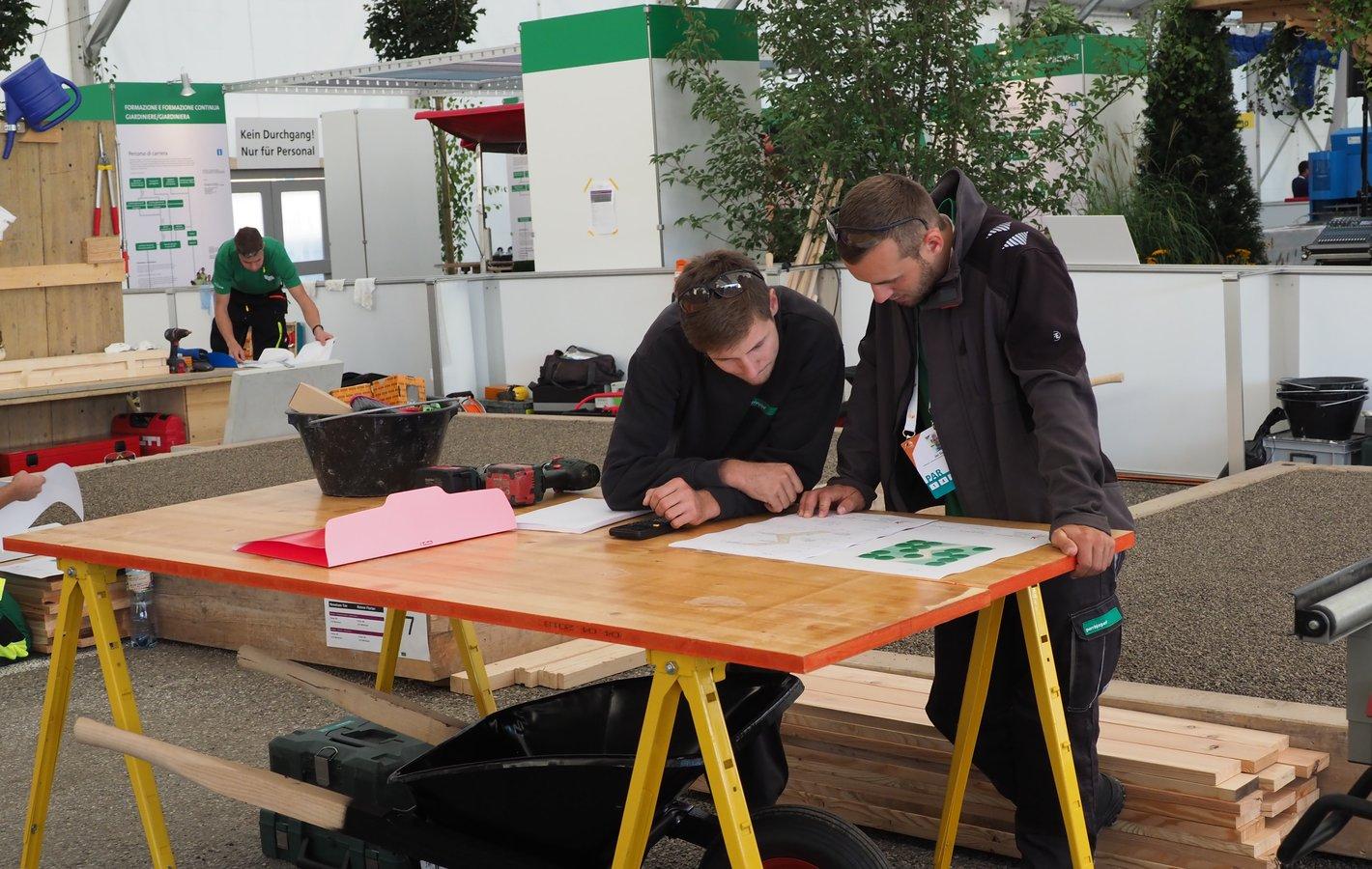 SwissSkills 2018 Bern 1. Wettkampf-Tag