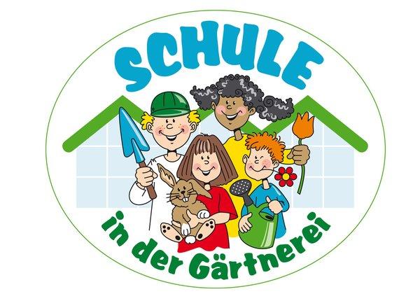Schule in der Gärtnerei Logo