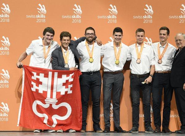 SwissSkills 2018 Siegerteams