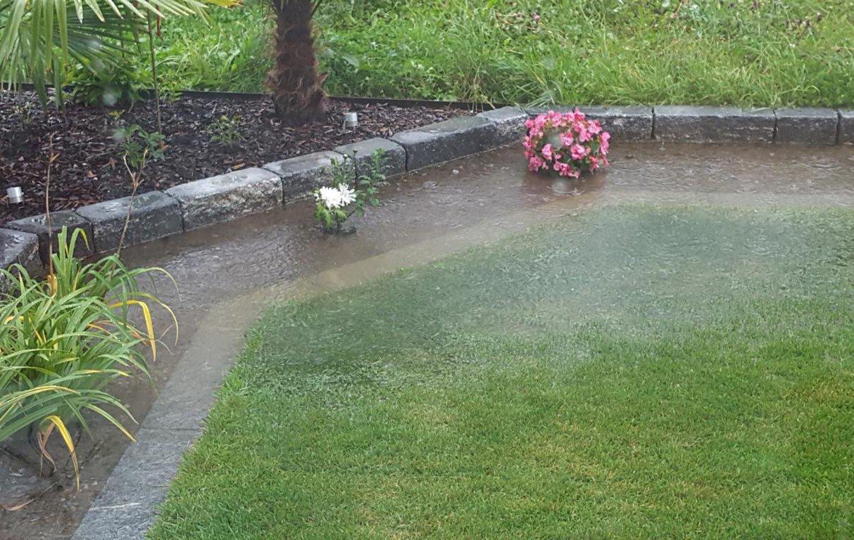 Überschwämmung Garten - Gutachter & Experte